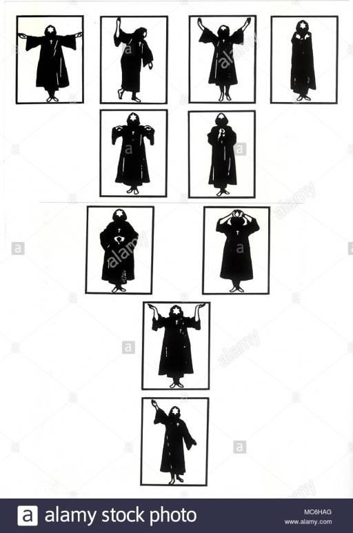 crowley ritual gestures