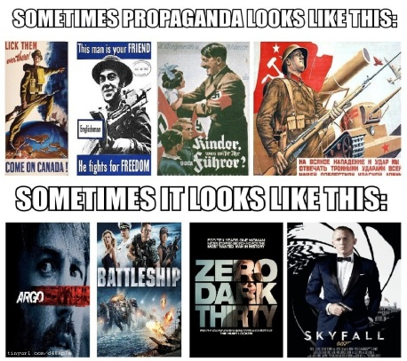 hollywood propaganda