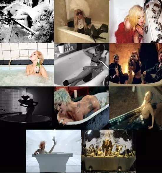 Lady-Gaga-Bathtub-Tumblr-compilation