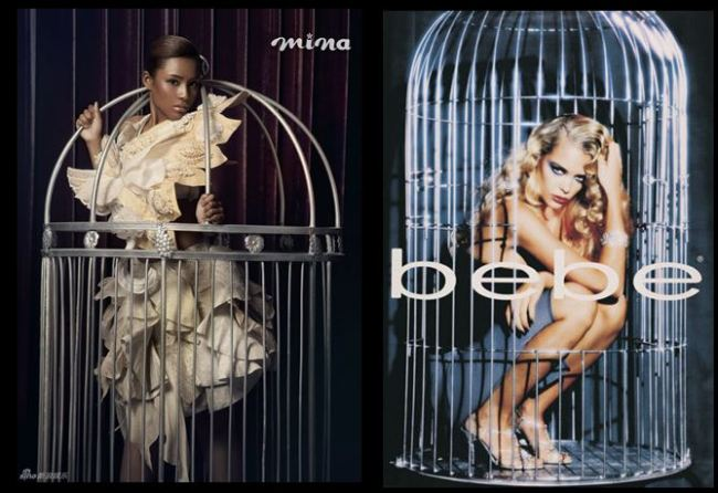 models-in-cages