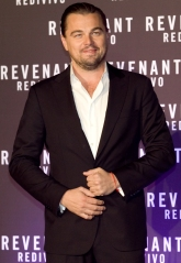 "Rome, Casa del Cinema, the premiere of the film ""Revenant"". Pictured: Leonardo DiCaprio Featuring: Leonardo DiCaprio Where: Rome, Italy When: 15 Jan 2016 Credit: IPA/WENN.com **Only available for publication in UK, USA, Germany, Austria, Switzerland**"