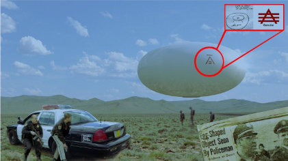 egg shaped ufo
