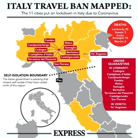 italien lockdown
