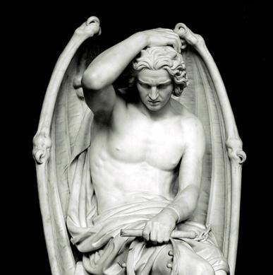 Luzifer Statue 2