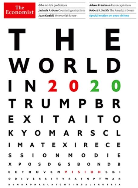 the economist worldin 2020